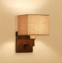 Traditional wall light / fabric
