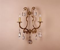 Classic wall light / crystal