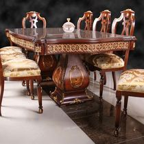 Louis XV style dining table / wooden / rectangular
