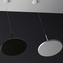 Pendant lamp / contemporary / cast aluminum / methacrylate