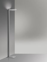 Floor lamp / contemporary / cast aluminum / methacrylate
