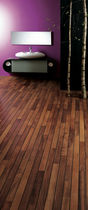Solid parquet flooring / glued / floating / oak