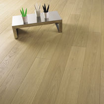 Engineered parquet flooring / solid / glued / oiled