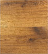 Glued parquet flooring / oiled / brushed