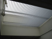Venetian blinds / canvas / for roof windows