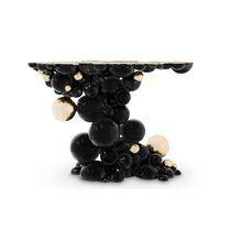 Original design coffee table / brass