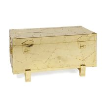 Contemporary chest / brass