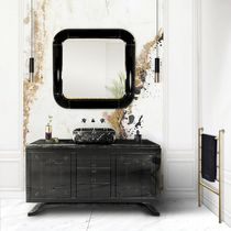 Wall-mounted mirror / living room / bedroom / contemporary