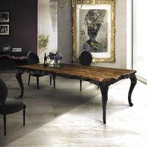 New Baroque design table / wooden / rectangular