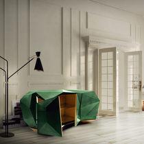 New Baroque design sideboard / glossy varnished wood
