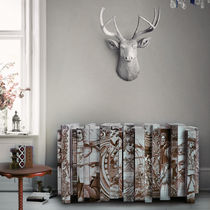 Original design sideboard / hand-painted wood