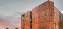 Copper cladding / metal / patina / panel