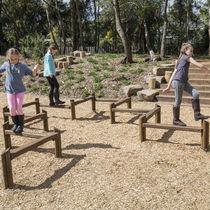 Playground balance beam