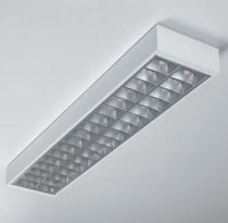 Hanging light fixture / surface-mounted / LED / fluorescent