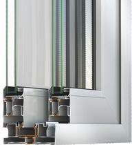 Glass sliding door system