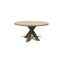 Dining table / contemporary / oak / walnut