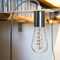Reading lamp / portable / contemporary / painted metal