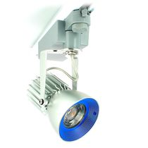 LED track light / round / anodized aluminum / for hotels