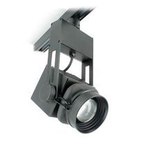 LED track light / round / aluminum / museum