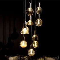 Pendant lamp / contemporary / painted metal / modular
