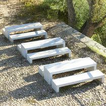 Contemporary picnic table / reinforced concrete / for public spaces / commercial