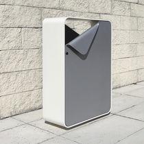 Public trash can / metal / original design