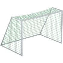 Fixed soccer goal