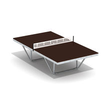 Contemporary ping pong table / for playgrounds
