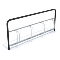 Metal bike rack
