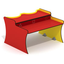Contemporary kids game table / for playgrounds