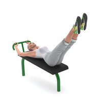 Sit-up bench / outdoor
