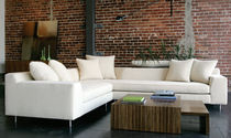 Corner sofa / contemporary / fabric / 5-seater
