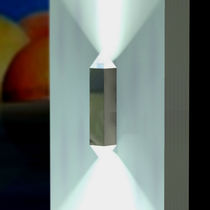 Contemporary wall light / aluminum / stainless steel / LED