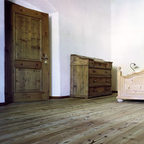 Larch parquet flooring / solid / glued / floating