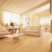 Maple wood flooring / engineered / glued / floating