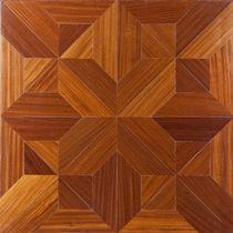 Solid parquet flooring / oak / oiled