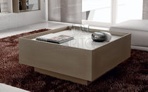 Contemporary coffee table / wooden / rectangular