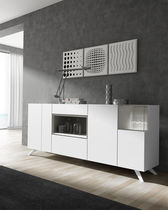 Contemporary sideboard / lacquered wood