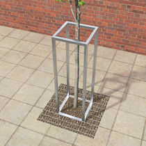 Galvanized steel tree guard