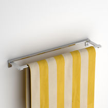 1-bar towel rack / 2-bar / wall-mounted / steel