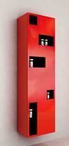 Bathroom column cabinet / contemporary