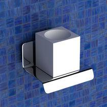 Stainless steel shelf / bathroom