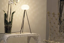 Table lamp / original design / steel / nylon
