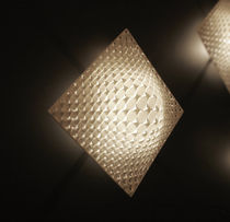 Original design wall light / square / nylon / halogen