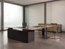 Executive desk / solid wood / contemporary / commercial