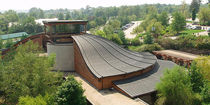 Copper roofing / standing seam / profiled