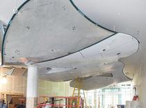 Aluminum suspended ceiling / floating / decorative