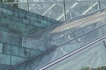 Structural glass curtain wall / metal and glass