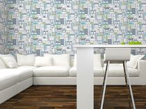 Wall fabric / patterned / PVC