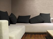 PVC wallcovering / residential / textured / fabric look